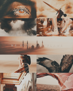 We Hunt The Flame Aesthetic